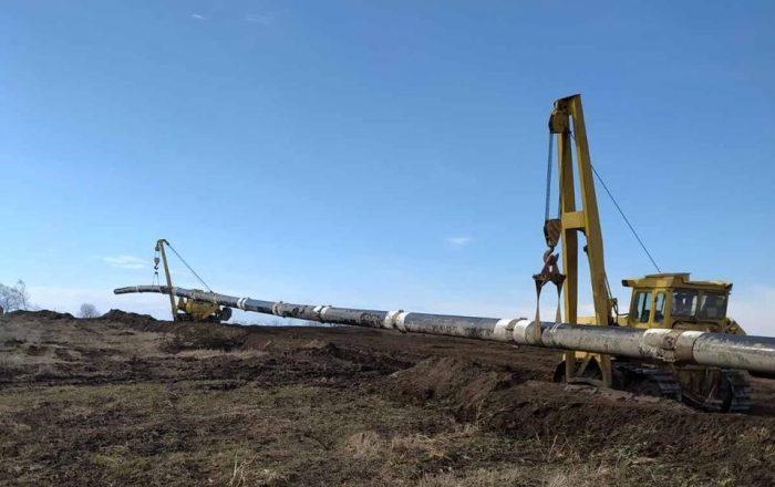 Ремонт газопроводу на кордоні з Польщею (1)