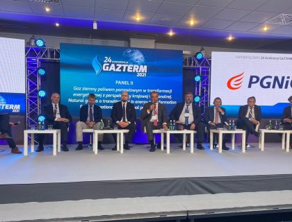 Сергій Макогон на 24-й конференції Gazterm